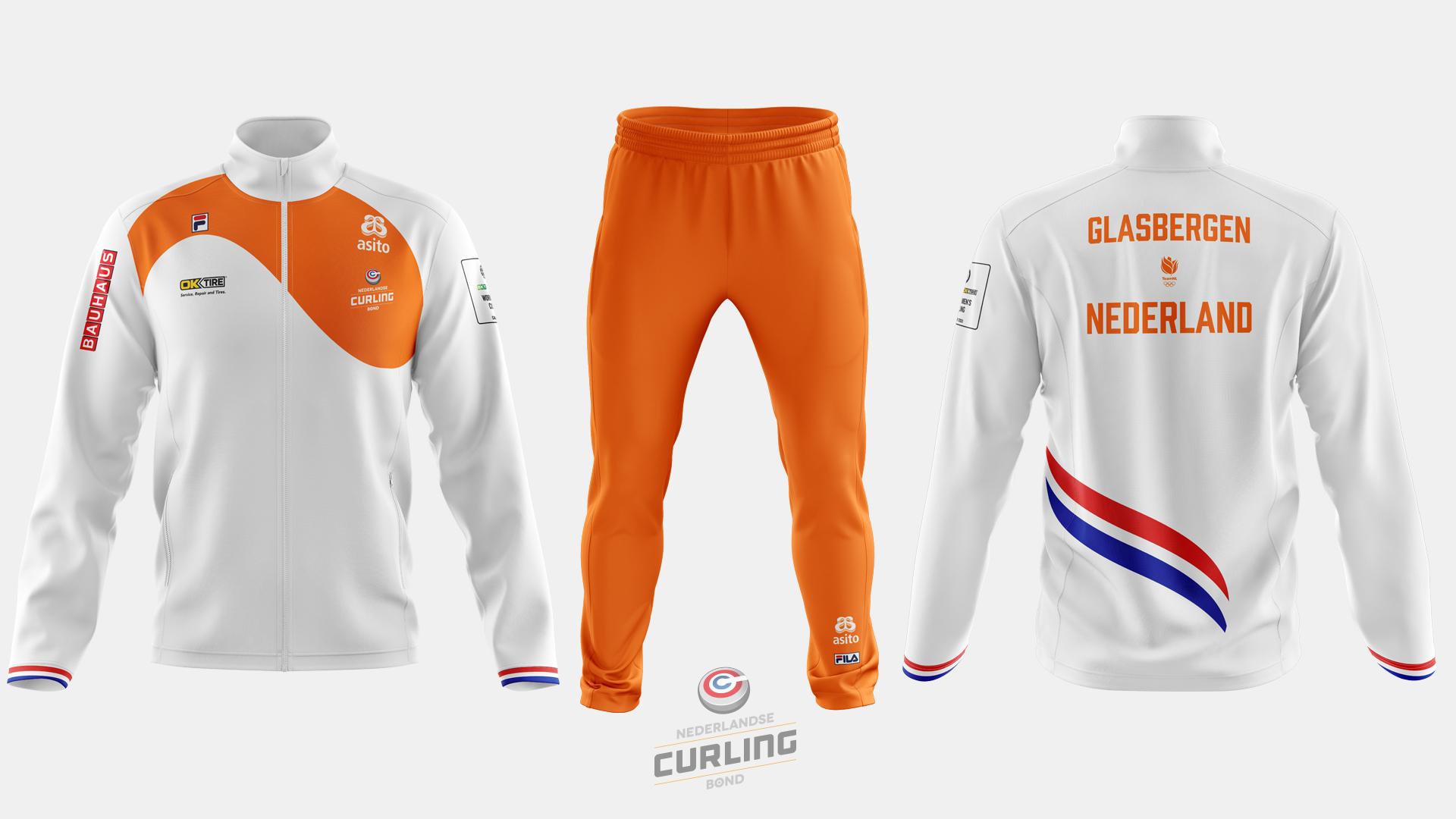 Team NL Curling jacket away