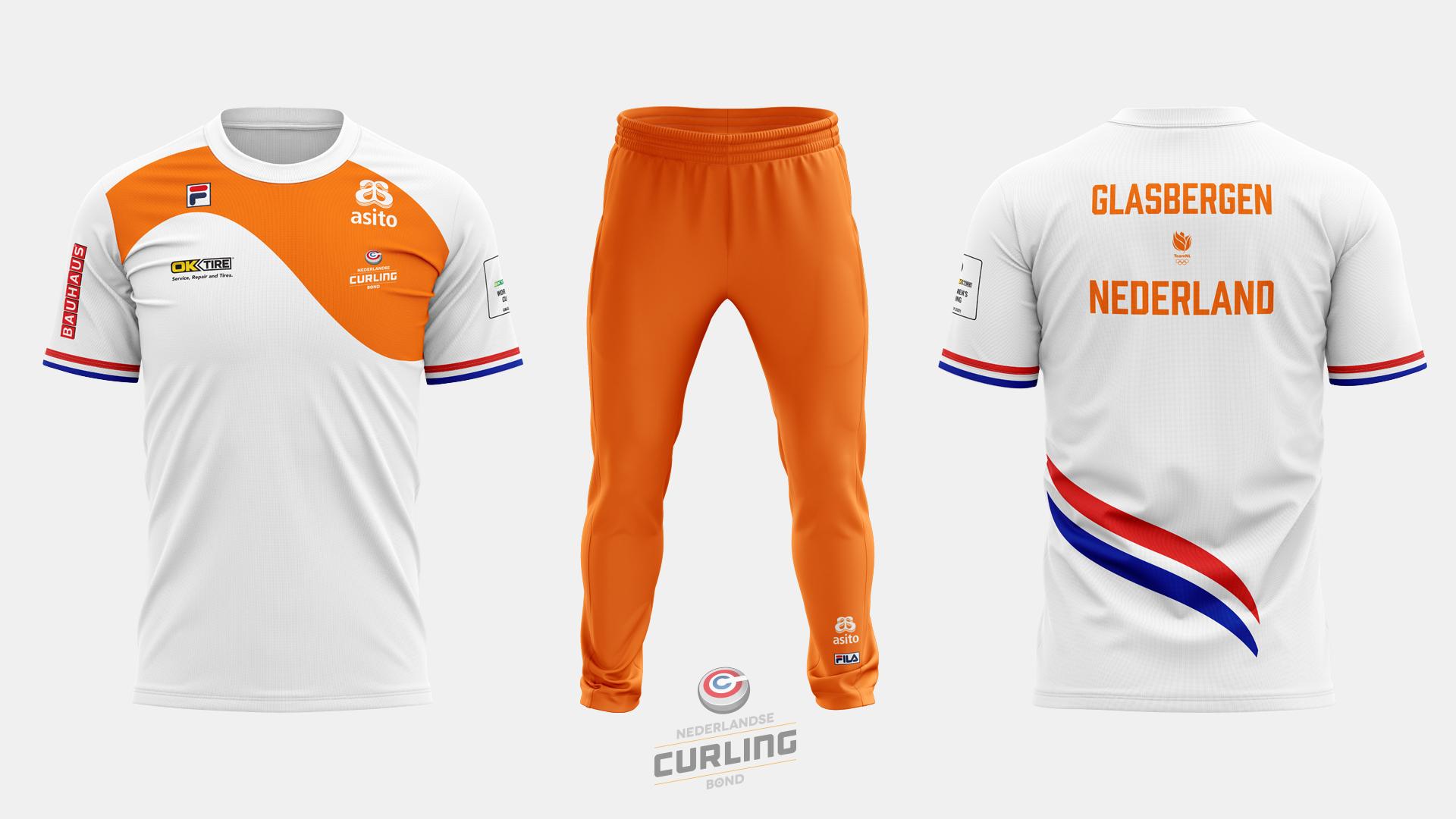 Team NL Curling jersey away
