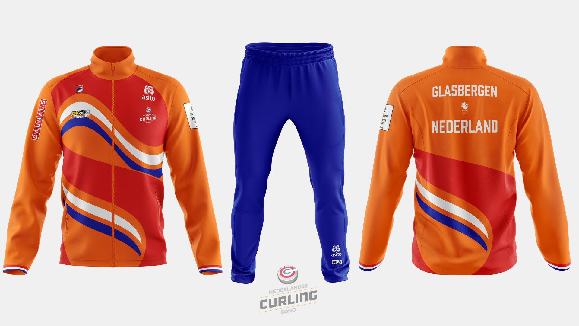 Team NL Curling jacket home