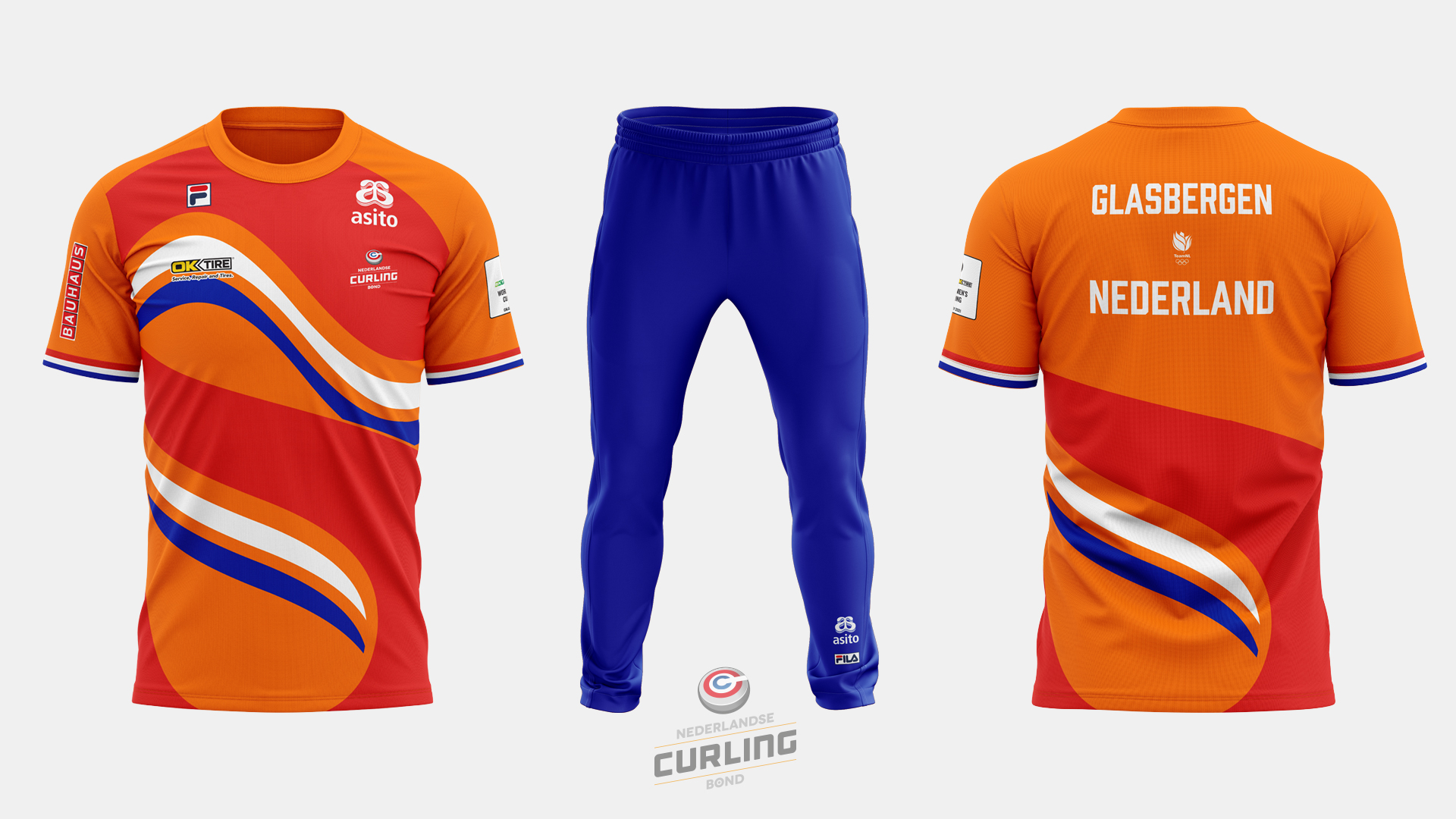 Team NL Curling jersey home