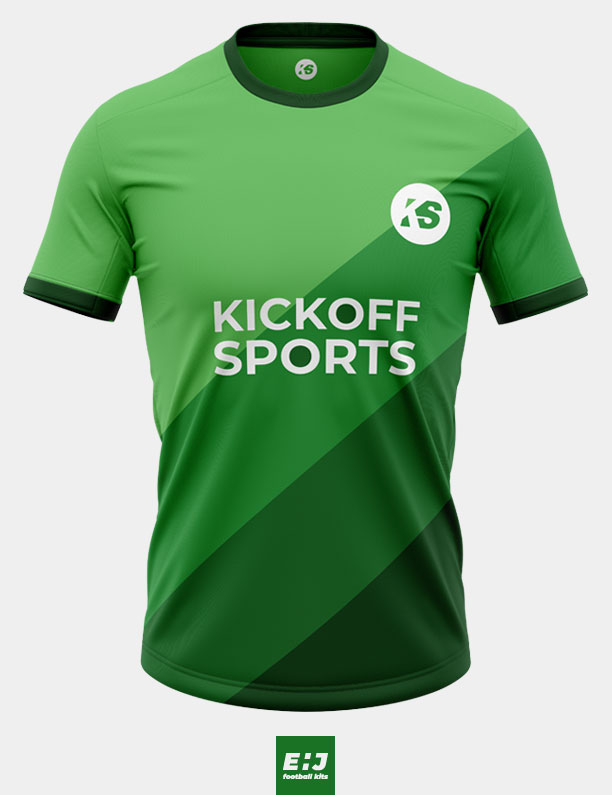 KickOff Sports green shirt