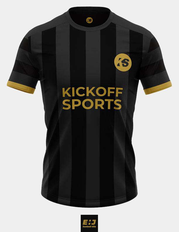 KickOff Sports black shirt