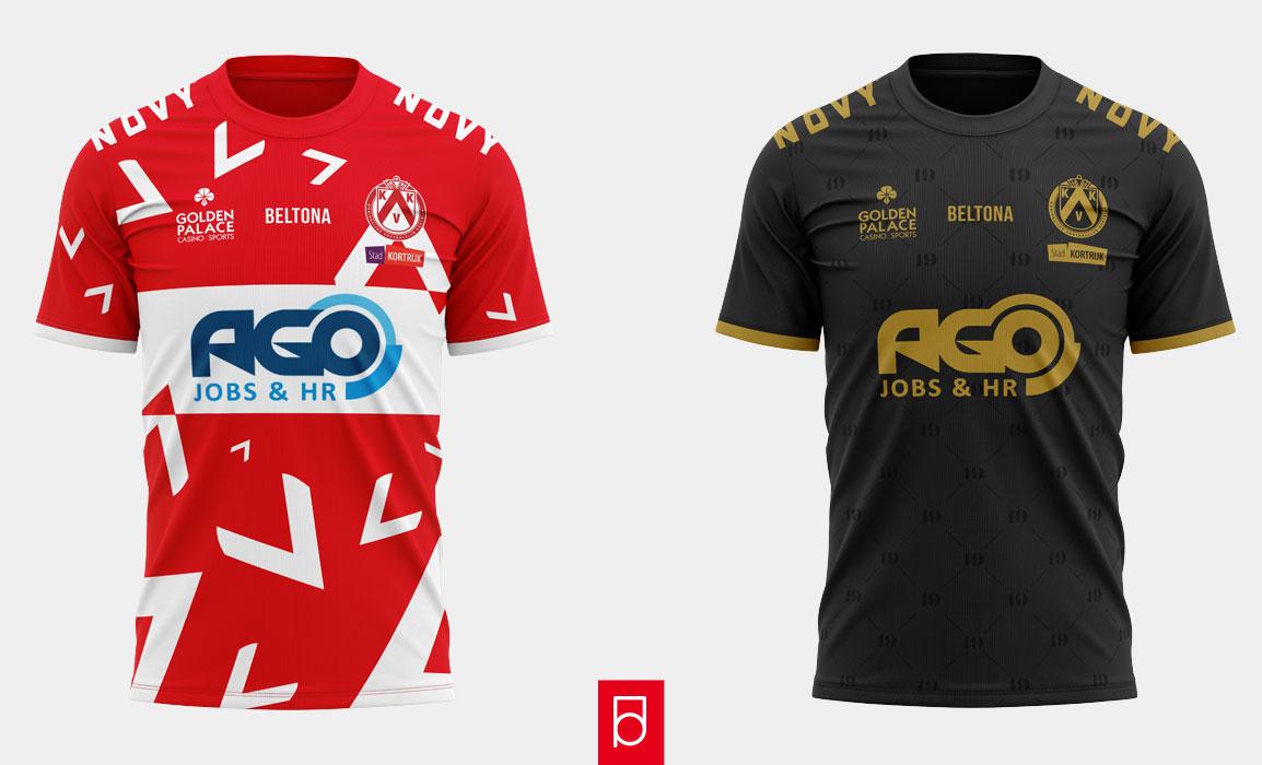 KV Kortrijk shirts