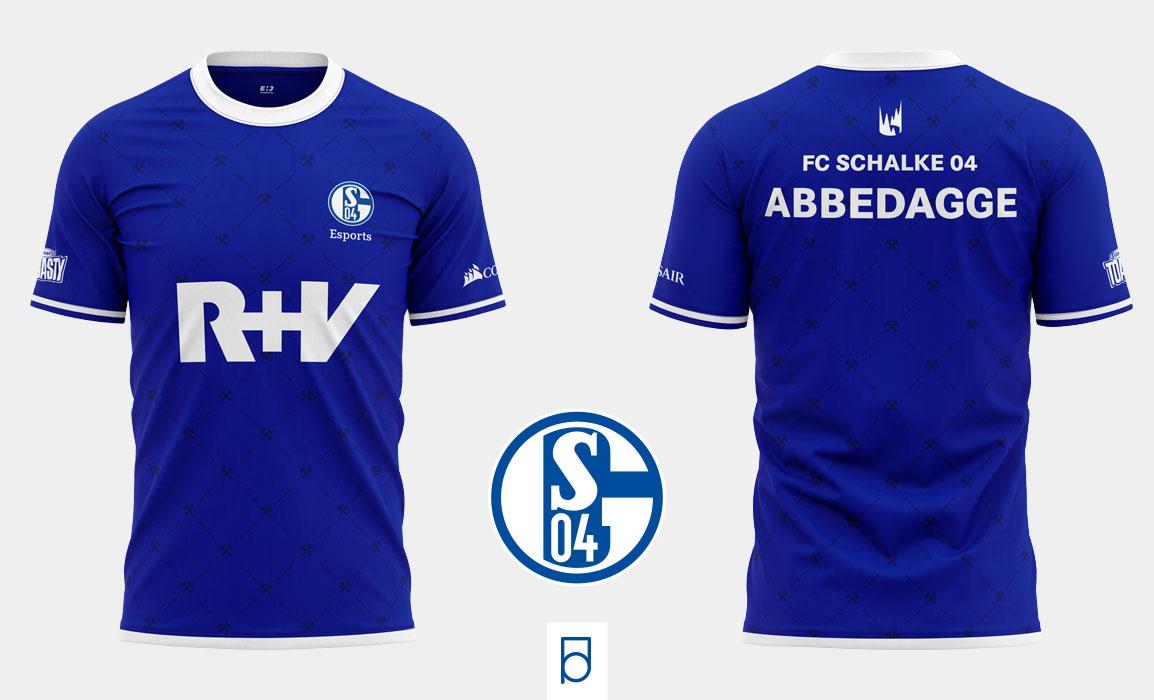 Schalke04 E-sports shirt