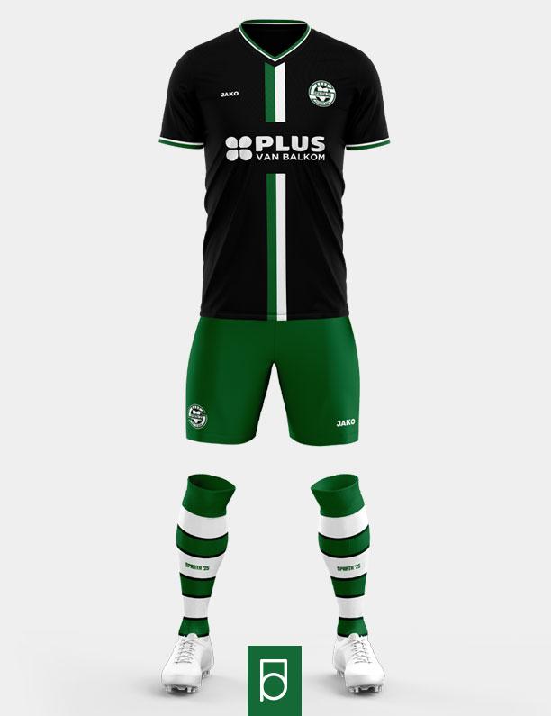 Sparta '25 Away kit