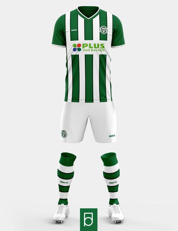 Sparta '25 home kit